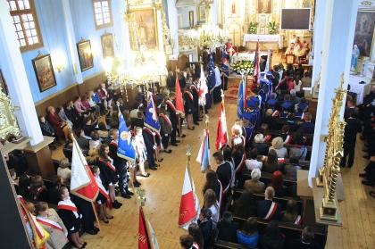 XI Zjazd Podlaskiej Rodziny Szkół im. Jana Pawła II w Kalinówce Kościelnej