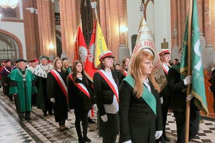 Msza św. na rozpoczęcie nowego roku akademickiego