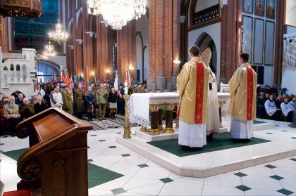 Msza św. za Ojczyznę w Narodowe Święto Niepodległości