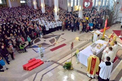 Uroczystości w Sanktuarium Miłosierdzia Bożego